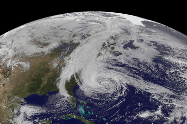 Emergency IT support for Victims of Hurricane Sandy