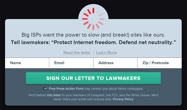 Internet Slowdown